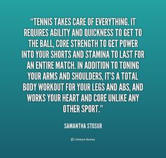 This quote explains everything that most people don't understand about tennis Tennis Tips, Sport Tennis, Play Tennis, Soccer, Athlete Quotes, Tennis Photos, Drop Shot, People Dont Understand, Tennis Workout