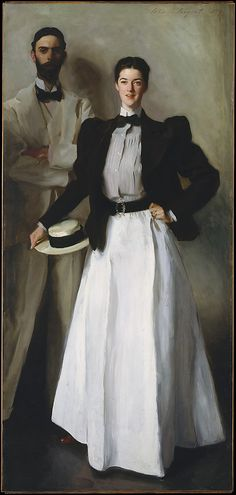 """Mr. and Mrs. I. N. Phelps Stokes"":  John Singer Sargeant, 1897"