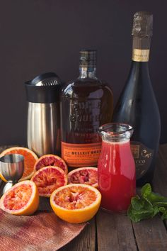 Blood orange, Gin and Blood on Pinterest