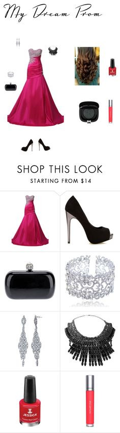"""The beauty of Red"" by saphire-flames-1999 ❤ liked on Polyvore featuring Miss Selfridge, Alexander McQueen, John Lewis, Tom Binns, Jessica, shu uemura and Marc Jacobs"