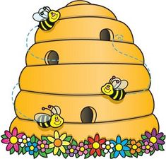 beehive clipart - Google Search  Cute used with Elder Ballard's talk October 2012