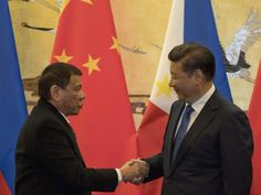 Breaking: Philippines president just announced that he's allying with China, wants to talk to Putin