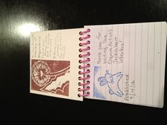 My first letterbox journal, for my jackrabbit letterbox in Henderson, Nevada, USA.