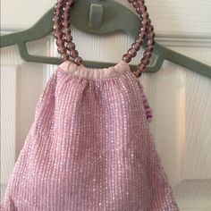 Moyna petite hand bag Pretty lavender beaded handbag by Moyna. Excellent condition. Used once for a Saturday afternoon wedding. Moyna Bags Clutches & Wristlets