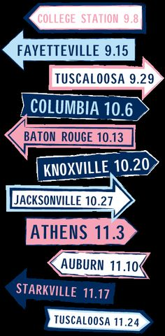 (SEC Cities)