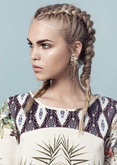 wanna give your hair a new look? French plait hairstyles is a good choice for you. Here you will find some super sexy French plait hairstyles, Find the best one for you, French Plait Hairstyles, Pretty Hairstyles, Braided Hairstyles, Elegant Hairstyles, Hairstyle Ideas, Double French Braids, Great Hair, Hair Day, Gorgeous Hair