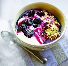 Make a big batch of this muesli and you can add it to a bowl of yogurt for weeks