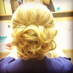 Image result for wedding hair curls