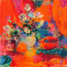 Peter Graham - Roses and Carnations