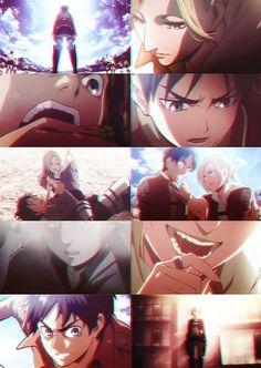 Eren and Annie wallpaper in The Shingeki no Kyojin ~ Eren x Annie Club
