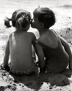 Endless days on the beach with sand in your hair and inbetween your toes! #childhood