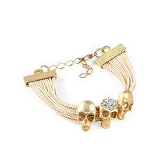 Almojewellery - Compact Buriti Palm Straw Bracelet with Skulls, £7.50 (http://www.almojewellery.com/wholesale/bu-ri-tee-jewellery/amwbtp110/compact-buriti-palm-straw-bracelet-with-skulls/)