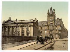 latest addition Cambridge, Caius College and Senate House, England