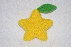 free pattern :  Paopu Fruit by Justine Dalipe