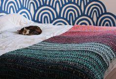 Tunisian Crochet Stashbuster Blanket | Tin Can Knits | Bloglovin'
