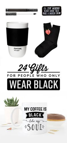 24 Gifts For People Who Only Wear Black #timbeta #sdv #betaajudabeta