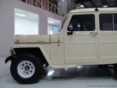 Willys Wagon, Jeep Willys, Old Jeep, Jeep Pickup, Luggage Rack, Rally Car, Rabbit Hole, Leather Interior, Pickup Trucks