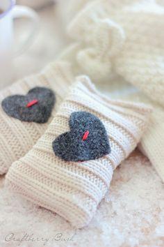 Craftberry Bush: Seasons of Home, Winter Edition - Super quick hand warmers