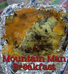 mountain man dutch oven camping breakfast