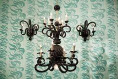 Still Adam Wallacavage chandelier- and sconces!