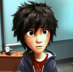 Hiro, ohhhhhhh, that FACE. . . .