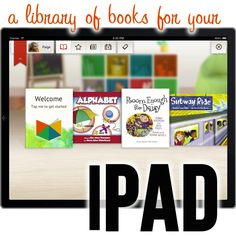 A Library of Books for your iPad on Bookboard - keep track of what your kids are reading and unlock new books to read! Plus, a chance to win an iPad mini when you become a Bookboard member (its free)!