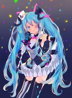Kawaii Anime, Chica Anime Manga, Vocaloid Characters, Miku Chan, Anime Character Drawing, Anime Angel, Fantasy Girl, Animes Wallpapers, Anime Art Girl