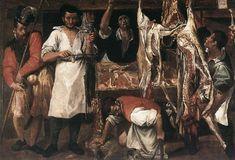 Comida arte carniceria