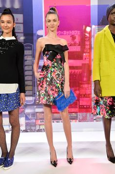 Pin for Later: Get Your Dress Fix With 100 of the Prettiest Autumn Looks Kate Spade New York Fall 2014