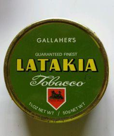 Gallahers latakia