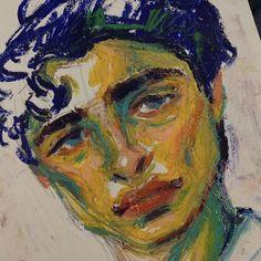 Oil Pastel Art, Oil Pastel Drawings, Art Drawings, Art Sketches, Oil Pastels, Arte Fashion, Arte Sketchbook, Art Hoe, Ap Art