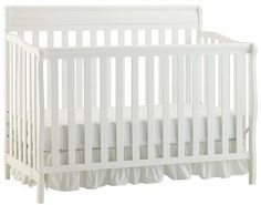 Graco by LaJobi Stanton Convertible Crib - Classic White