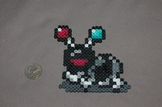 Perler Black Antoid (Earthbound)