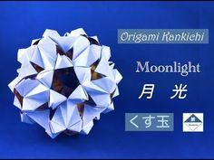 Moonlight Kusudama (Assembly) Tutorial 月光(くす玉)の組み方 - YouTube