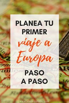 How to organize my first trip to Europe- Cómo organizar mi primer viaje a Europa How to plan a trip to Europe step by step. Travel Advice, Travel Guides, Travel Tips, Wanderlust Travel, Asia Travel, Places To Travel, Travel Destinations, Vacation Quotes, Travelling Tips