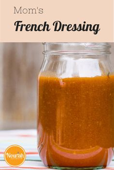 This zippy, tomato-based French dressing recipe--was handed down to Lia's mom early on in her marriage by her Aunt Gladys. French Salad Dressings, Salad Dressing Recipes, Pasta Salad Recipes, Sauce Recipes, Cooking Recipes, Catalina Dressing Recipes, Dip Recipes, Salad Bar, Soup And Salad