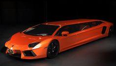 Lamborghini Aventador Stretch Limo