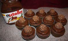 Cupcakes de Nutella. ME DERRITOOOOO!
