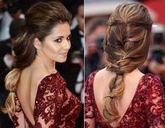 Pretty plaited hairstyles at Cannes Film Festival 2013 - Photo 3 | Celebrity news in hellomagazine.com