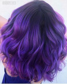 Purple Hair: Volume Up