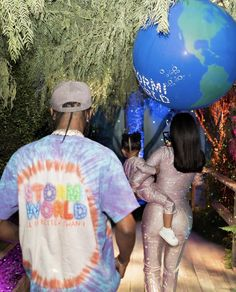 Kylie Jenner and ex Travis Scott were seen chatting up a storm at their daughter Stormi's second birthday party. And two days after the elaborate birthday, Kylie Jenner gushed about Travis.