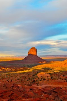 One of the mittens- Monument Valley, Utah