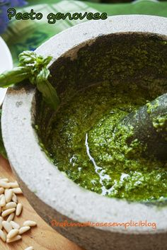 Pesto genovese (no vegan)