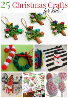 The Life of Jennifer Dawn: Christmas Crafts for Kids and a HUGE Giveaway