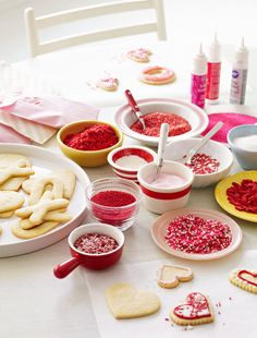 Valentine's Day Sugar Cookies~ fun for the kiddos