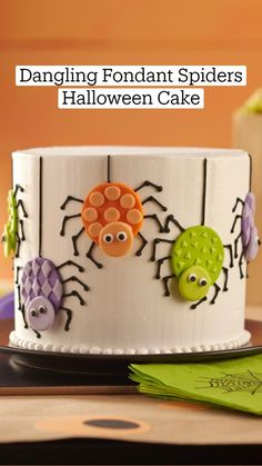 Cake Icing Tips, Cake Decorating Frosting, Cake Decorating Videos, Cookie Decorating, Halloween Snacks, Halloween Cookies, Holloween Cake, Unique Birthday Cakes, Cake Pictures
