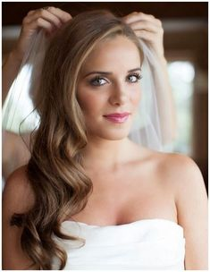 wedding-hairstyles-for-long-hair-veil