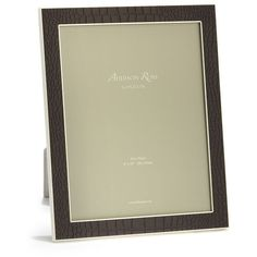 Addison Ross Faux Croc-Embossed Picture Frame (€84) ❤ liked on Polyvore featuring home, home decor, frames, brown, brown picture frames, colored picture frames, colored frames and brown frames