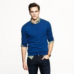 J. Crew: Slim Cotton-Cashmere Crewneck Sweater