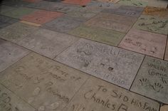 Hollywood Boulevard Los Angeles nel Los Angeles, CA